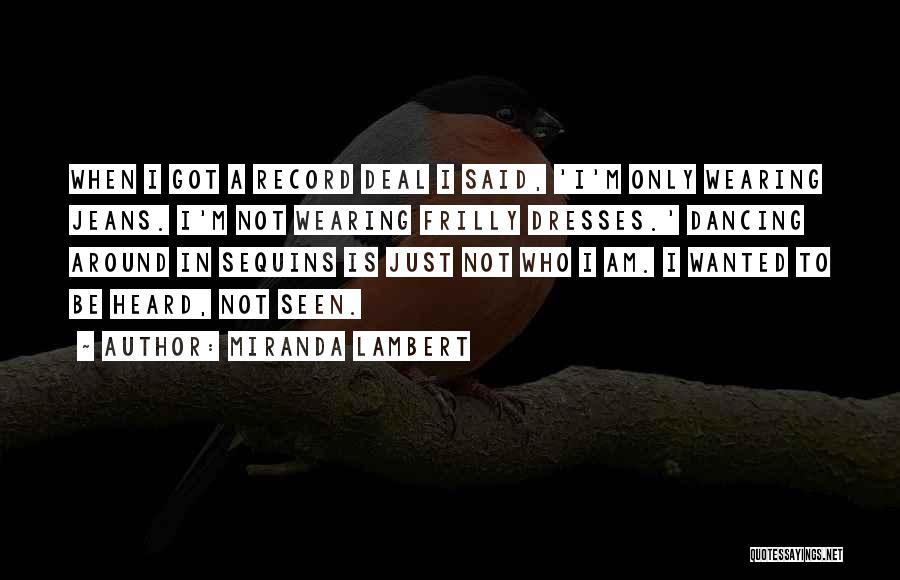 Miranda Lambert Quotes 427803