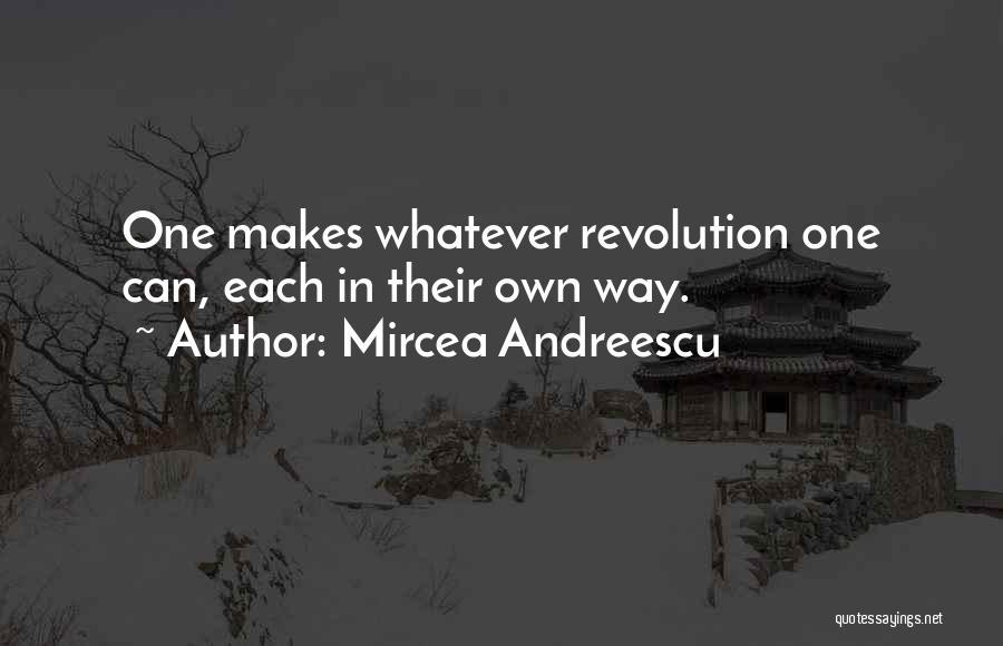Mircea Andreescu Quotes 720582