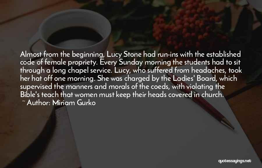 Miriam Gurko Quotes 1258275