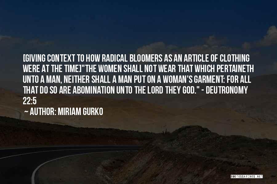 Miriam Gurko Quotes 2068417