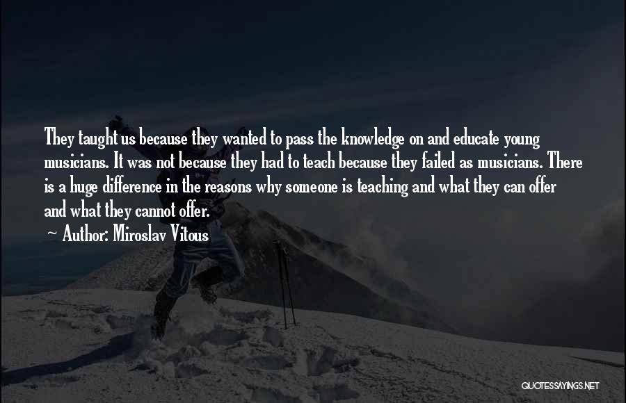 Miroslav Vitous Quotes 1670377