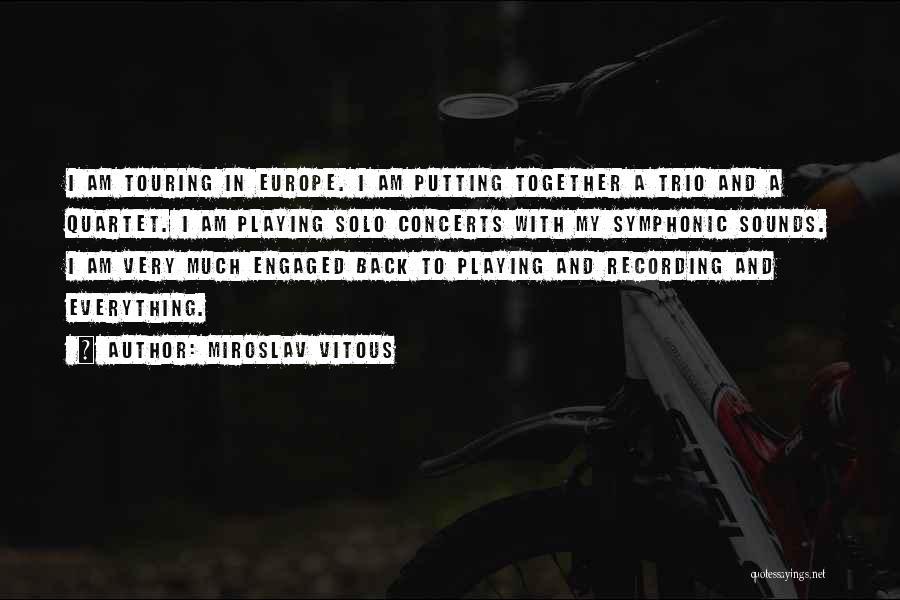 Miroslav Vitous Quotes 206835