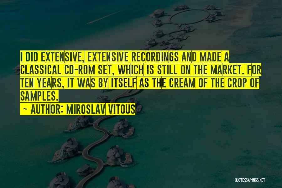 Miroslav Vitous Quotes 595232