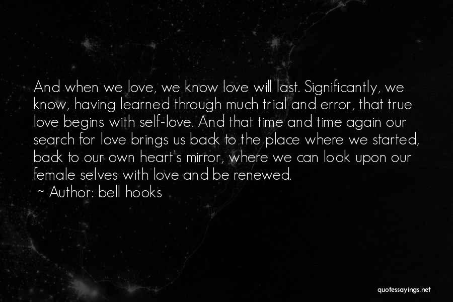 Mirror And Love Quotes By Bell Hooks