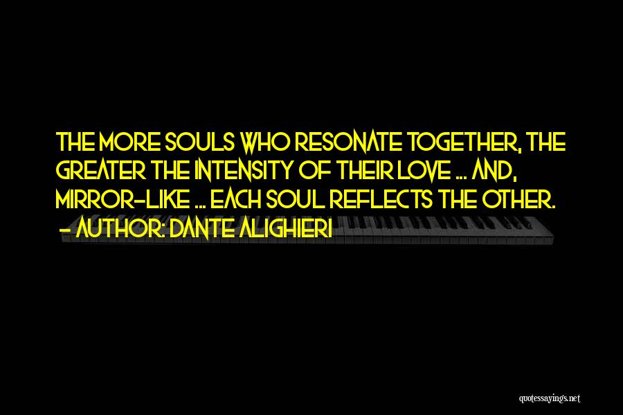 Mirror And Love Quotes By Dante Alighieri