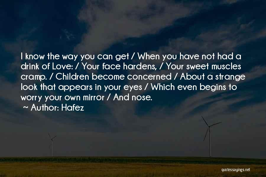 Mirror And Love Quotes By Hafez