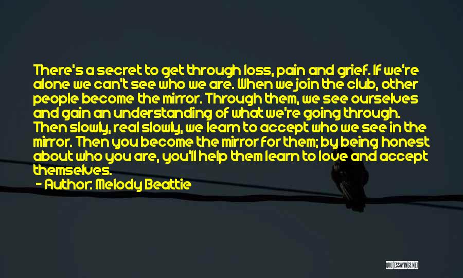 Mirror And Love Quotes By Melody Beattie