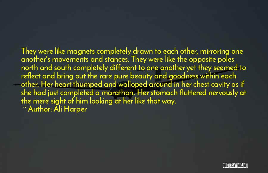 Mirroring Yourself Quotes By Ali Harper
