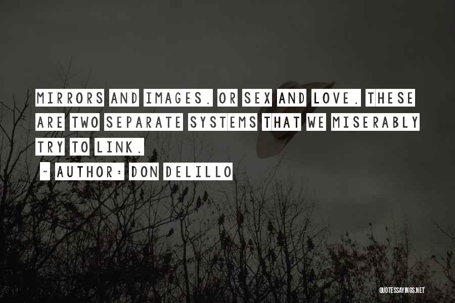 Miserably In Love Quotes By Don DeLillo