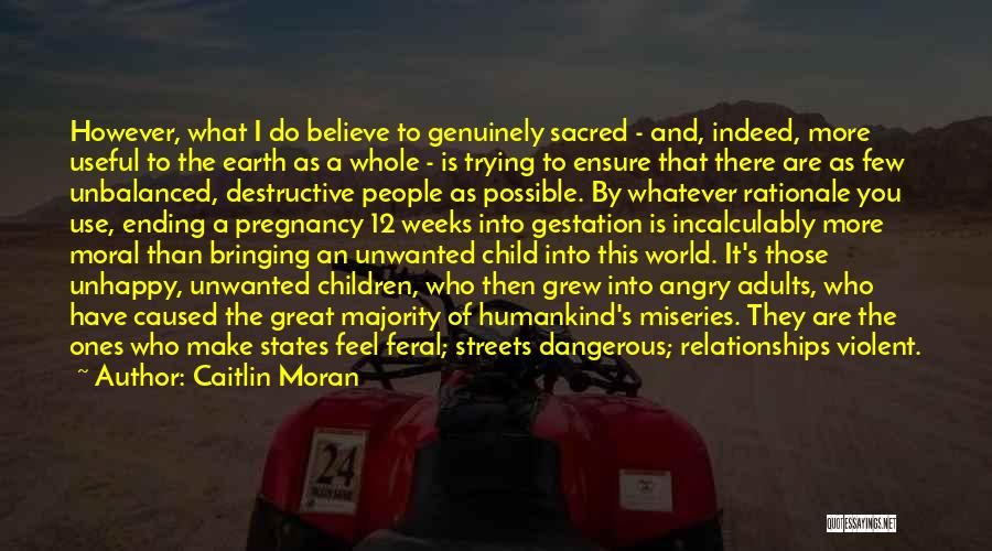 Miseries Quotes By Caitlin Moran