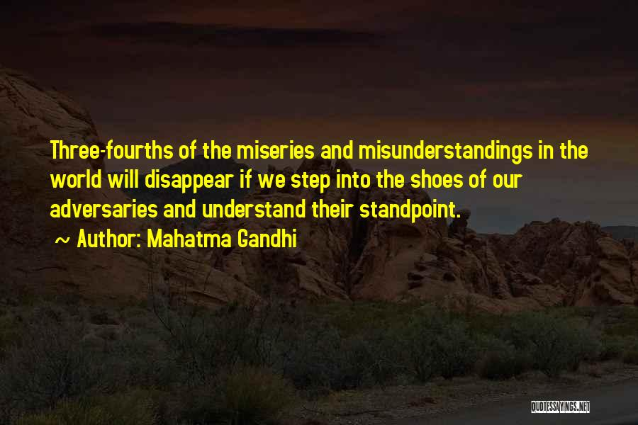 Miseries Quotes By Mahatma Gandhi
