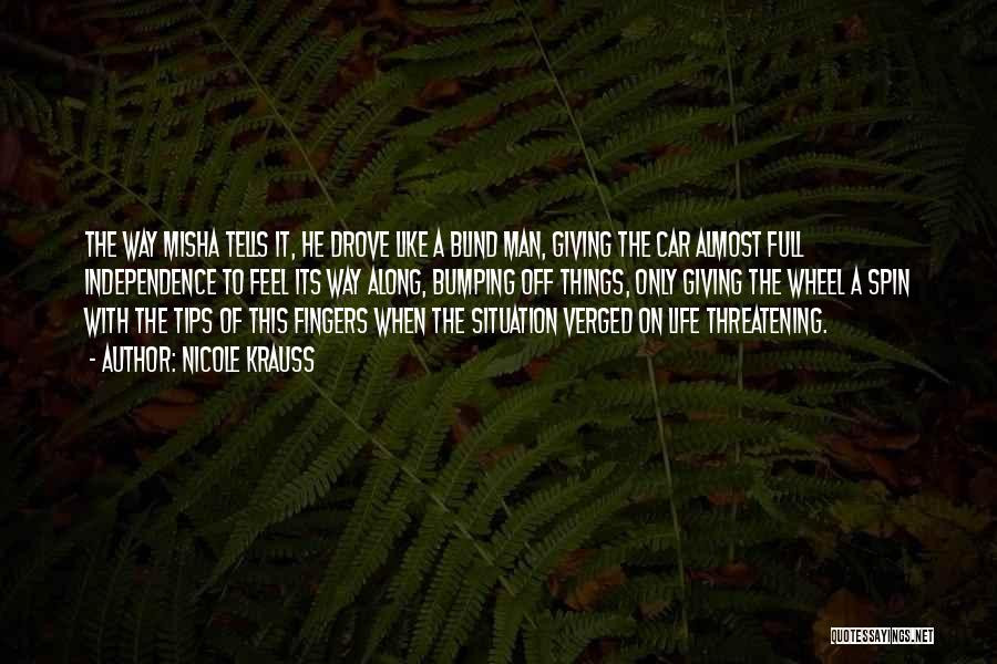 Misha Quotes By Nicole Krauss