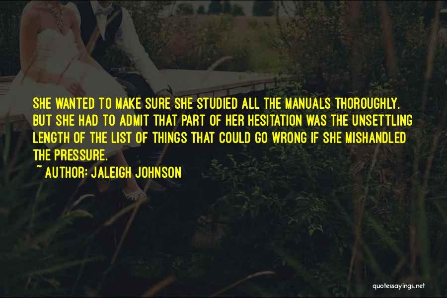 Mishandled Quotes By Jaleigh Johnson