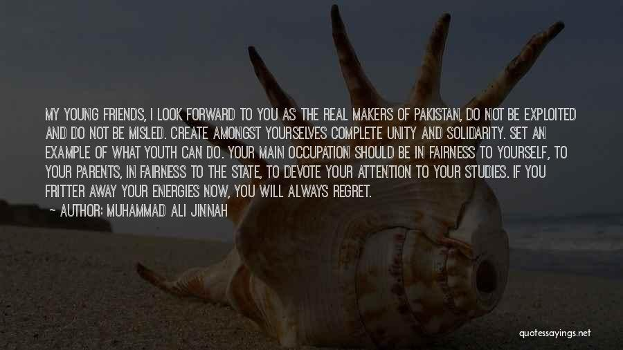 Misled Youth Quotes By Muhammad Ali Jinnah