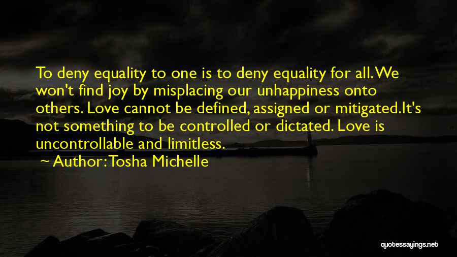 Misplacing Things Quotes By Tosha Michelle
