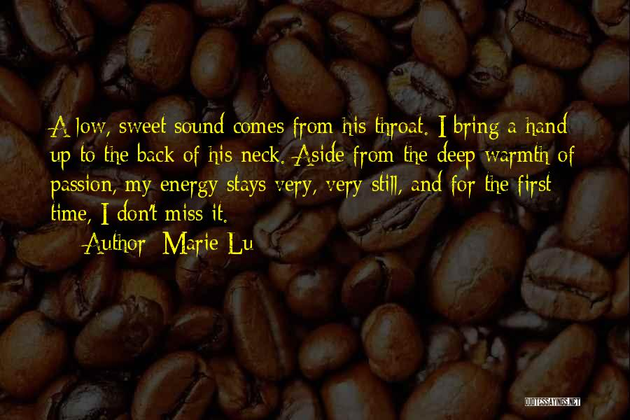 Miss And Love Quotes By Marie Lu