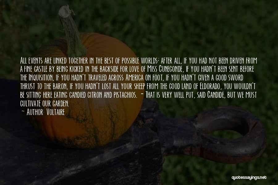 Miss And Love Quotes By Voltaire