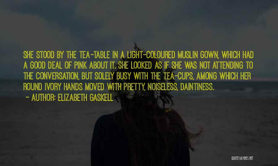 Miss Our Conversation Quotes By Elizabeth Gaskell