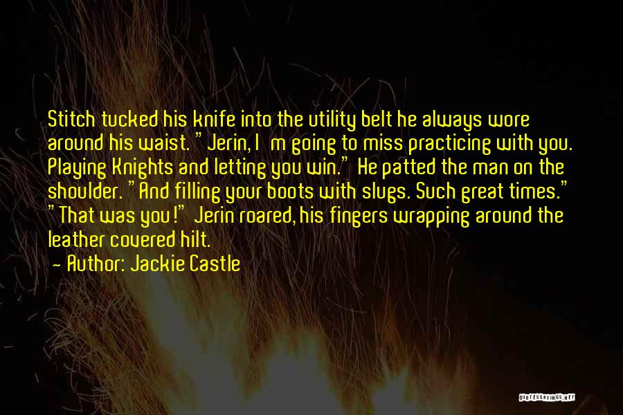 Miss Our Friendship Quotes By Jackie Castle