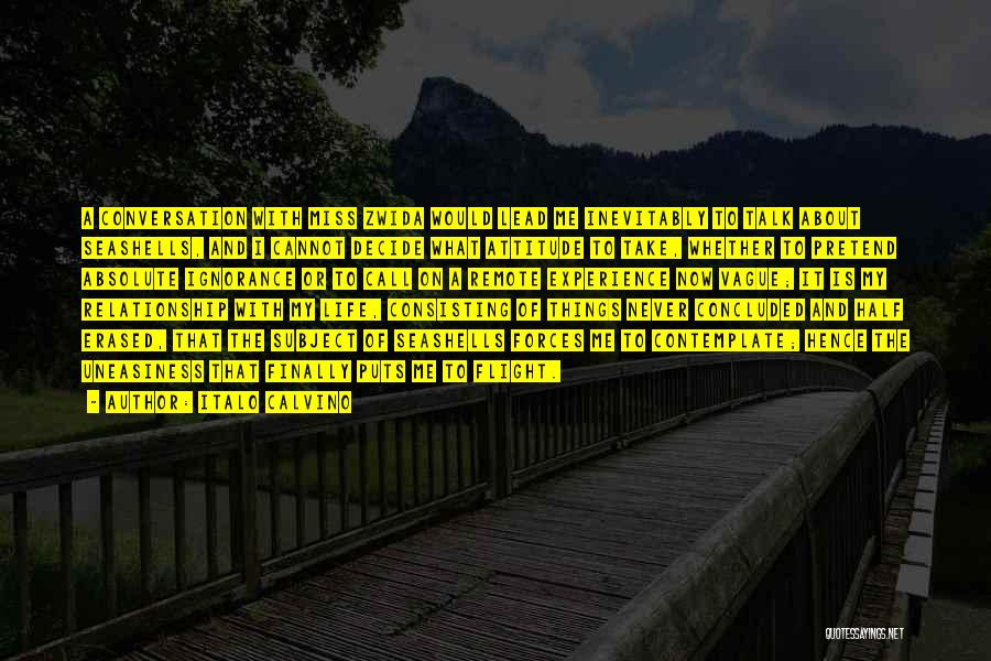 Miss You Relationship Quotes By Italo Calvino