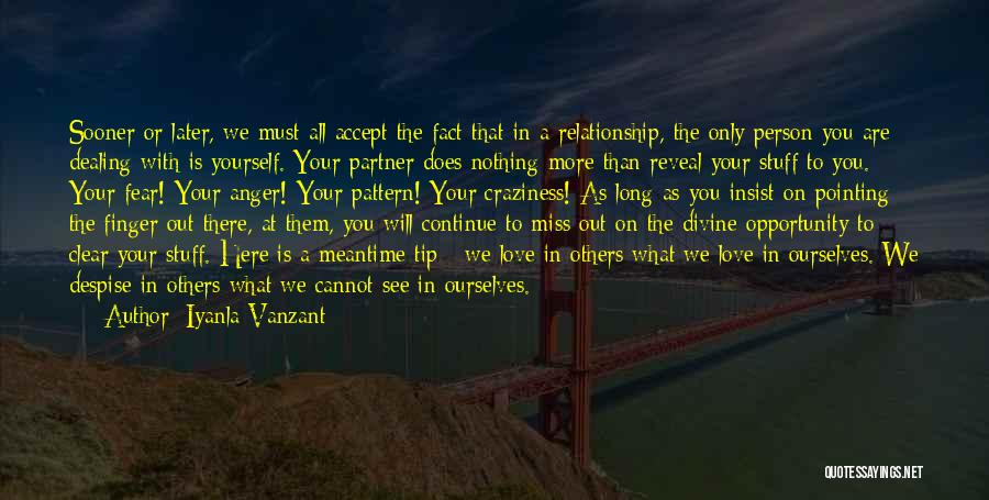 Miss You Relationship Quotes By Iyanla Vanzant