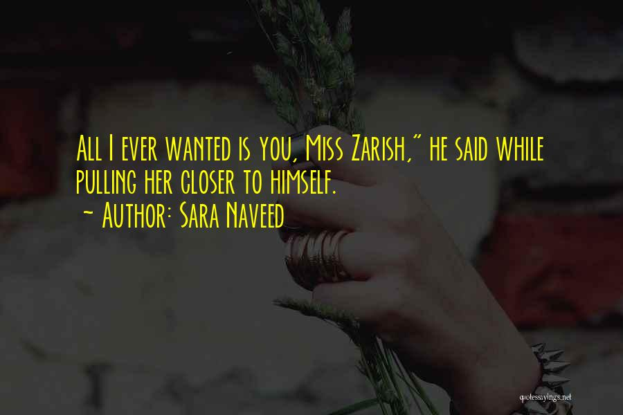 Miss You Relationship Quotes By Sara Naveed