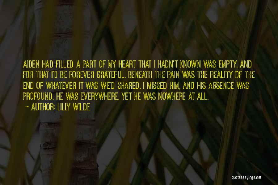 Missed My Love Quotes By Lilly Wilde