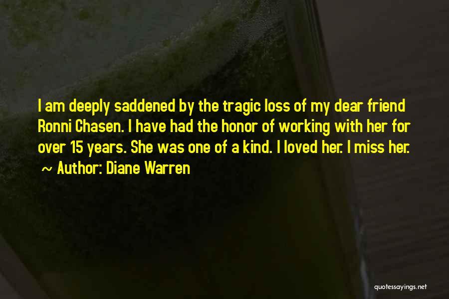 Missing Best Friend Quotes By Diane Warren