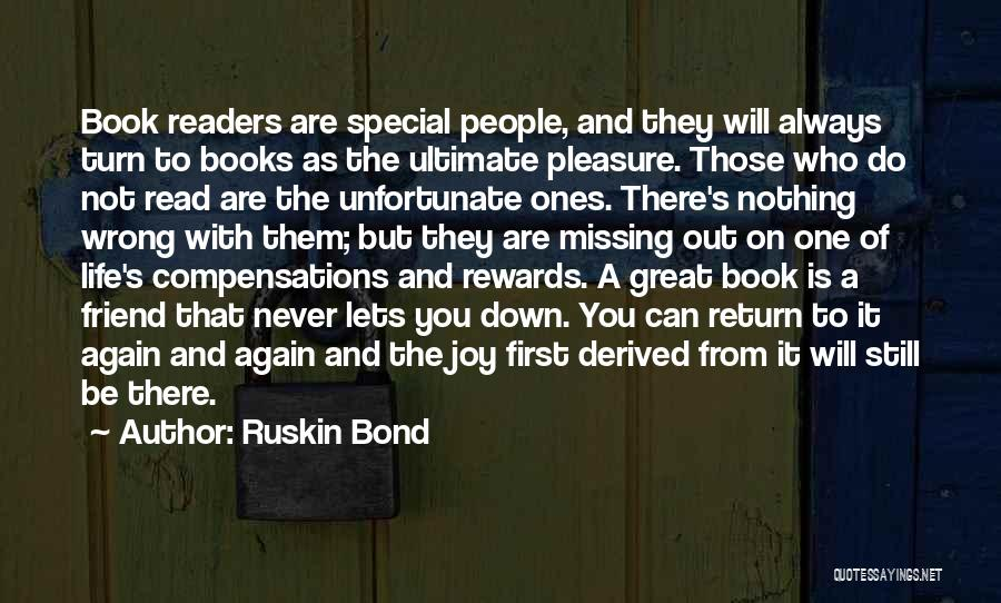 Missing Best Friend Quotes By Ruskin Bond