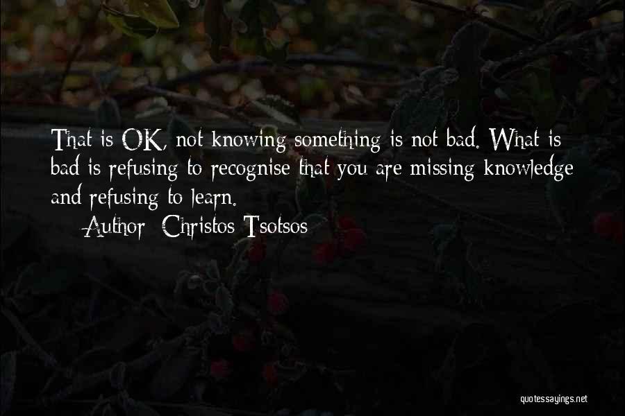 Missing Him So Bad Quotes By Christos Tsotsos