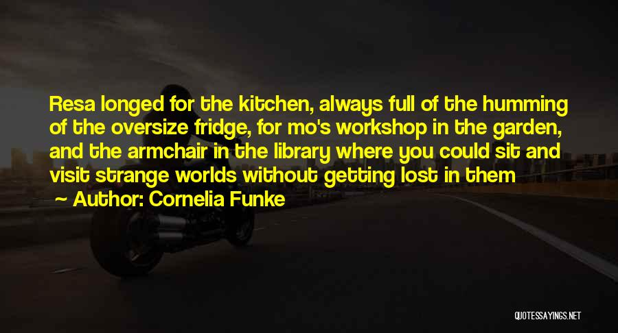 Missing Lost Ones Quotes By Cornelia Funke