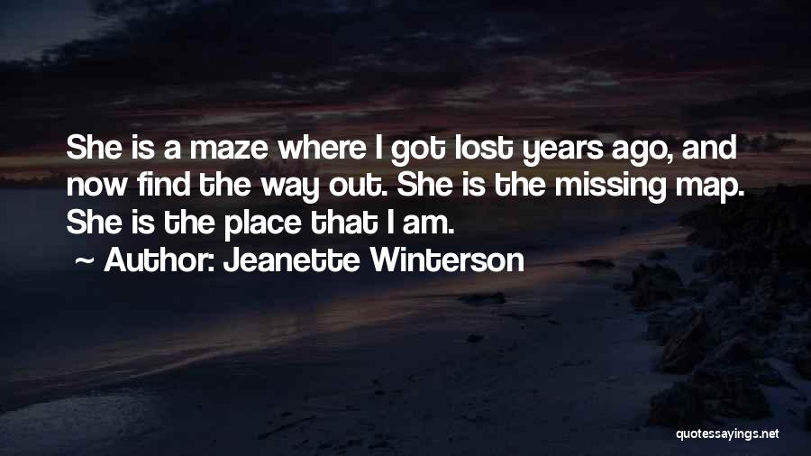 Missing Lost Ones Quotes By Jeanette Winterson
