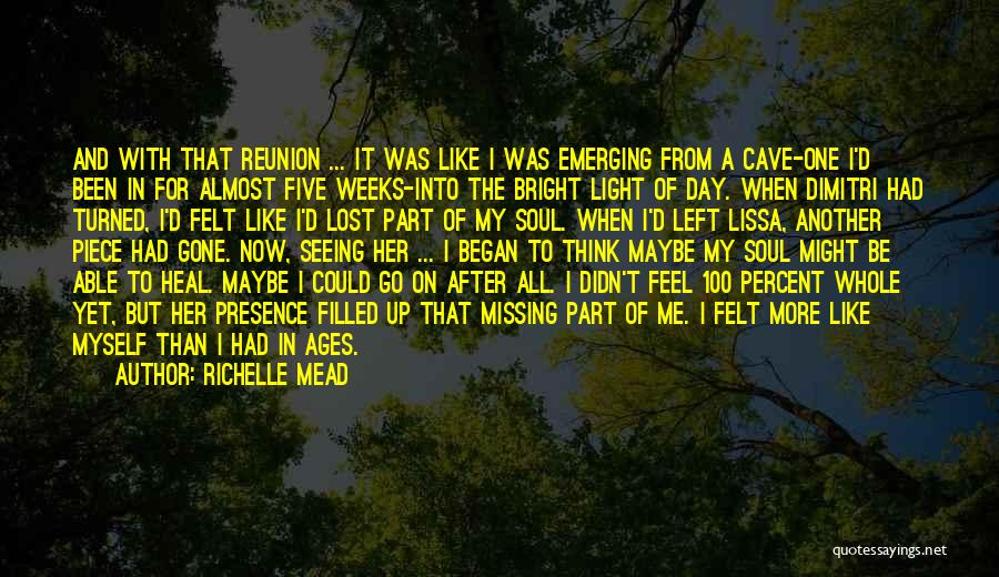 Missing Lost Ones Quotes By Richelle Mead