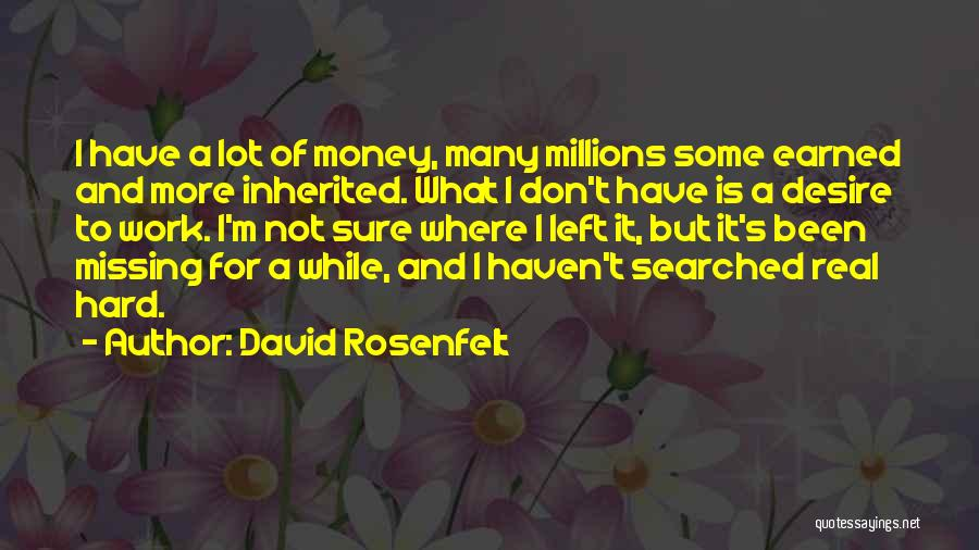 Missing Lot Quotes By David Rosenfelt