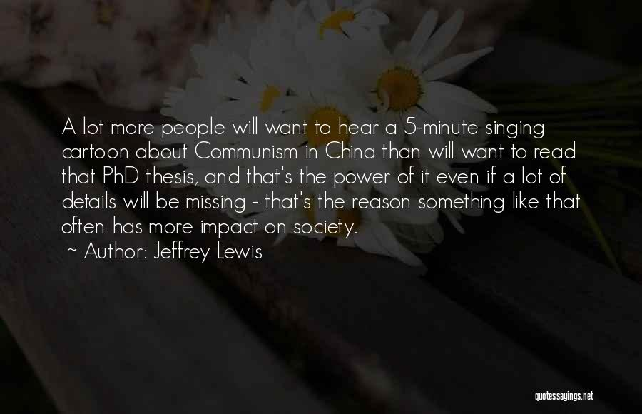 Missing Lot Quotes By Jeffrey Lewis