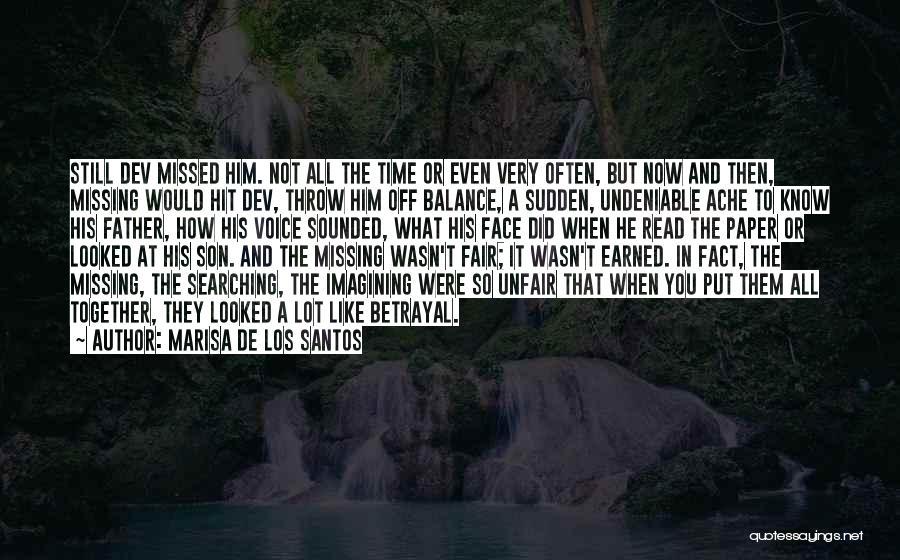 Missing Lot Quotes By Marisa De Los Santos