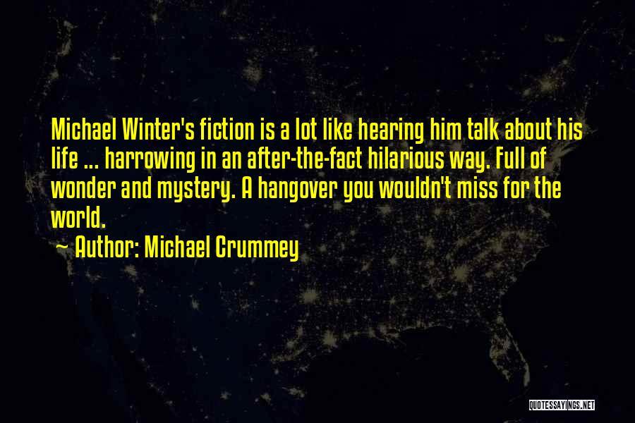 Missing Lot Quotes By Michael Crummey