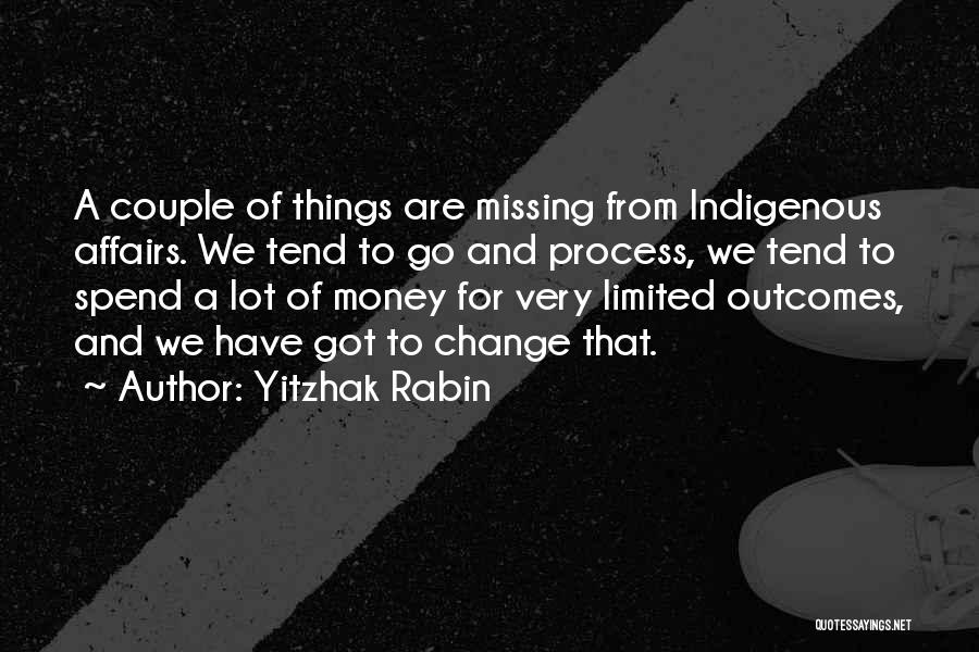 Missing Lot Quotes By Yitzhak Rabin
