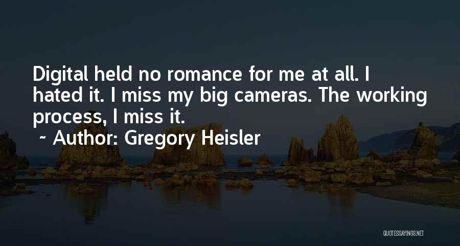 Missing My One And Only Quotes By Gregory Heisler