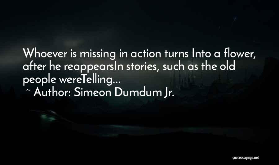 Missing My One And Only Quotes By Simeon Dumdum Jr.