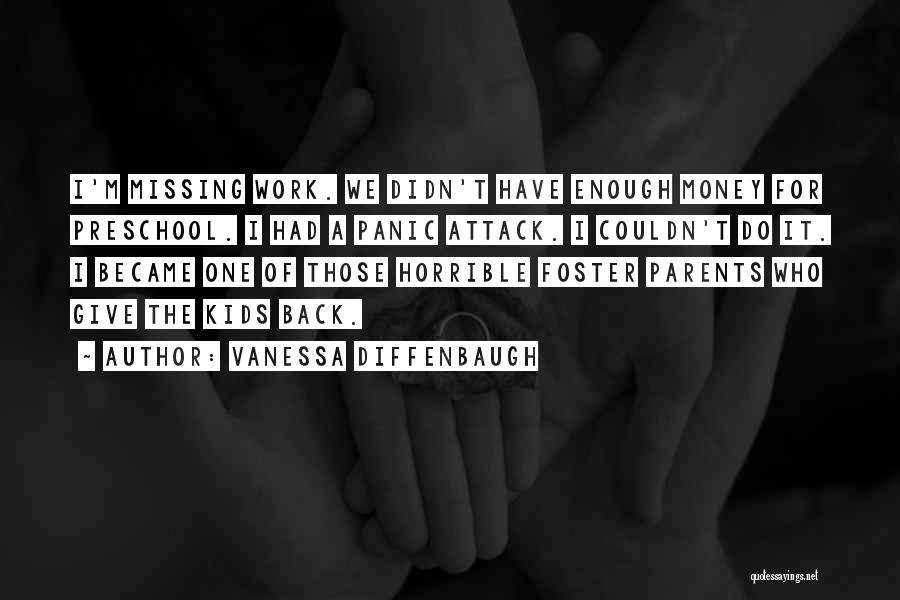 Missing My Parents Quotes By Vanessa Diffenbaugh