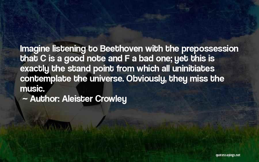 Missing So Bad Quotes By Aleister Crowley