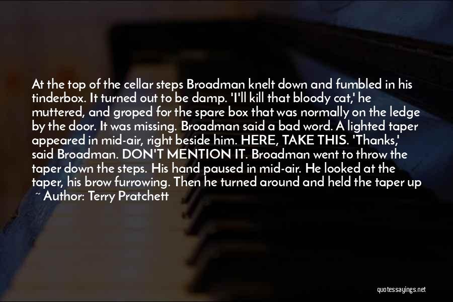 Missing So Bad Quotes By Terry Pratchett