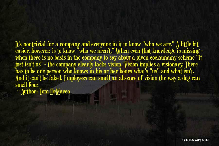 Missing Someone Gets Easier Quotes By Tom DeMarco