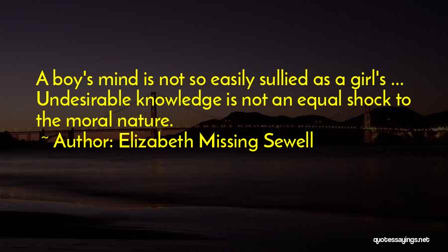 Missing U Girl Quotes By Elizabeth Missing Sewell