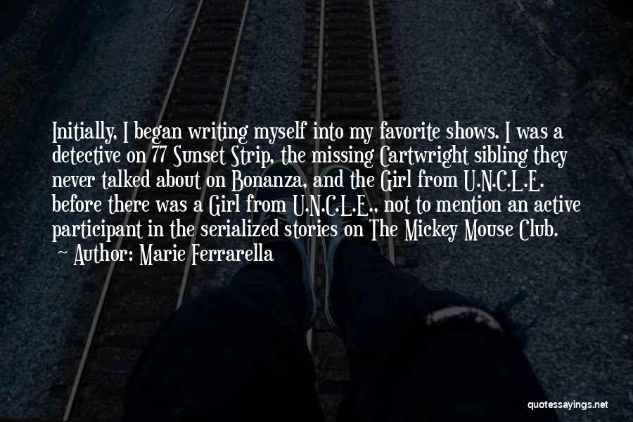 Missing U Girl Quotes By Marie Ferrarella