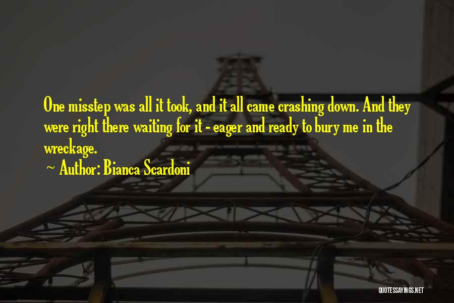 Misstep Quotes By Bianca Scardoni