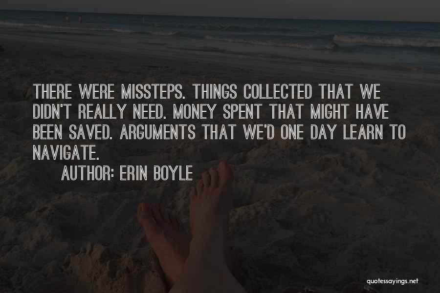 Misstep Quotes By Erin Boyle