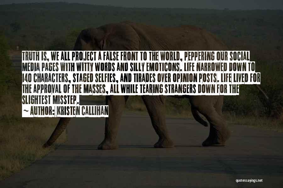 Misstep Quotes By Kristen Callihan
