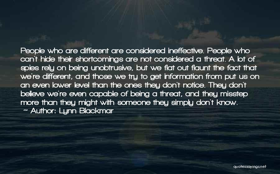 Misstep Quotes By Lynn Blackmar